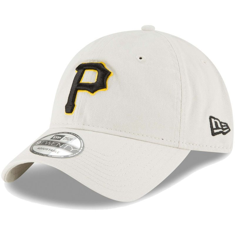 check out 3c0e6 555a5 Pittsburgh Pirates New Era Core Classic Twill 9TWENTY Adjustable Hat – Tan