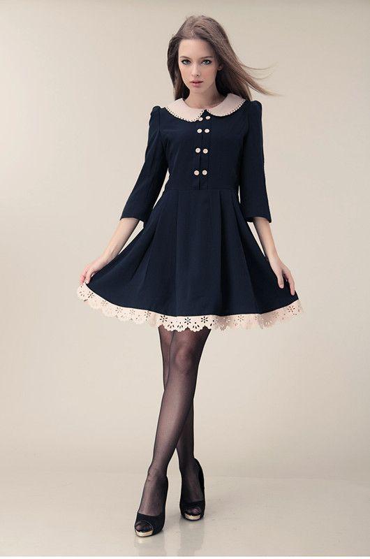 Preppy Style For Women Aliexpress Ol Dress Working Vintage