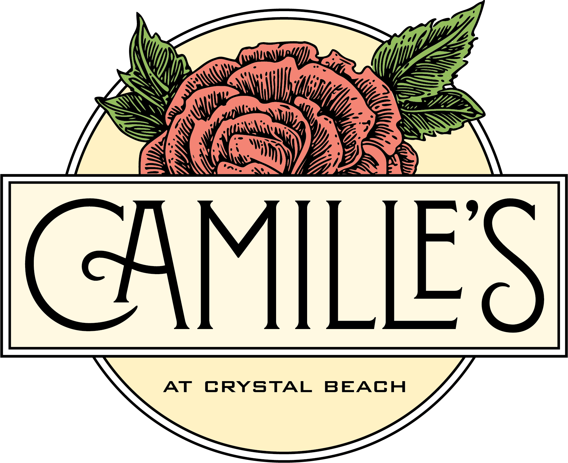 Camille S At Crystal Beach Owned By Harbor Docks Sushi And Pizza Crystal Beach Wine By The Glass Harbor Dock