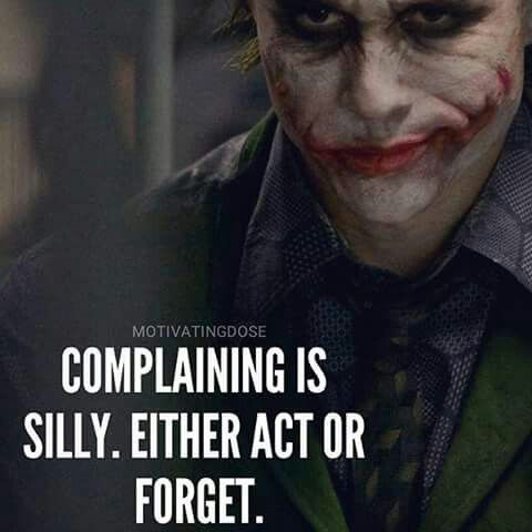Dumb Inspirational Quotes Or Unfollow This Boarddumb Ass  Motivation  Pinterest  Joker .