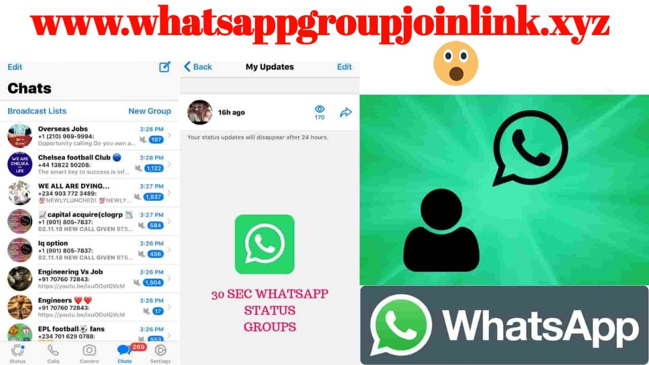 30 Sec Status Whatsapp Group Join Link Hello Friends