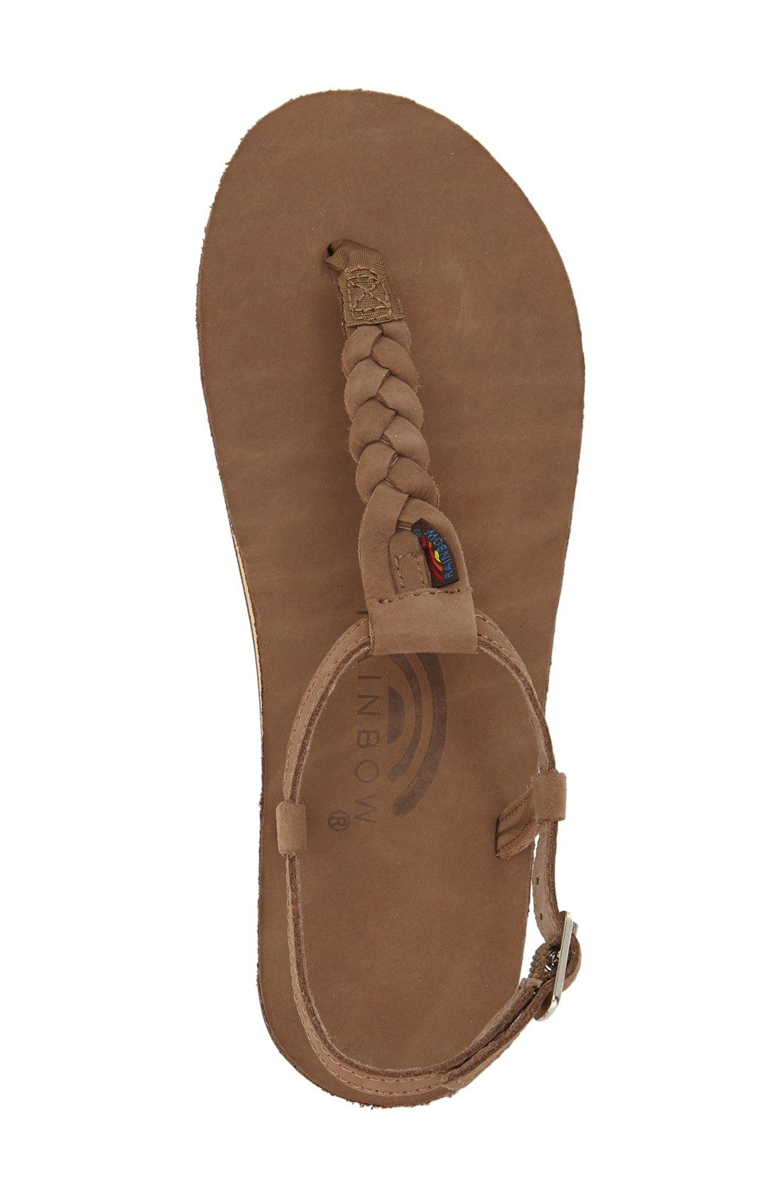 Rainbow  T-Street  Braided T-Strap Sandal (Women)  f3afbed9b