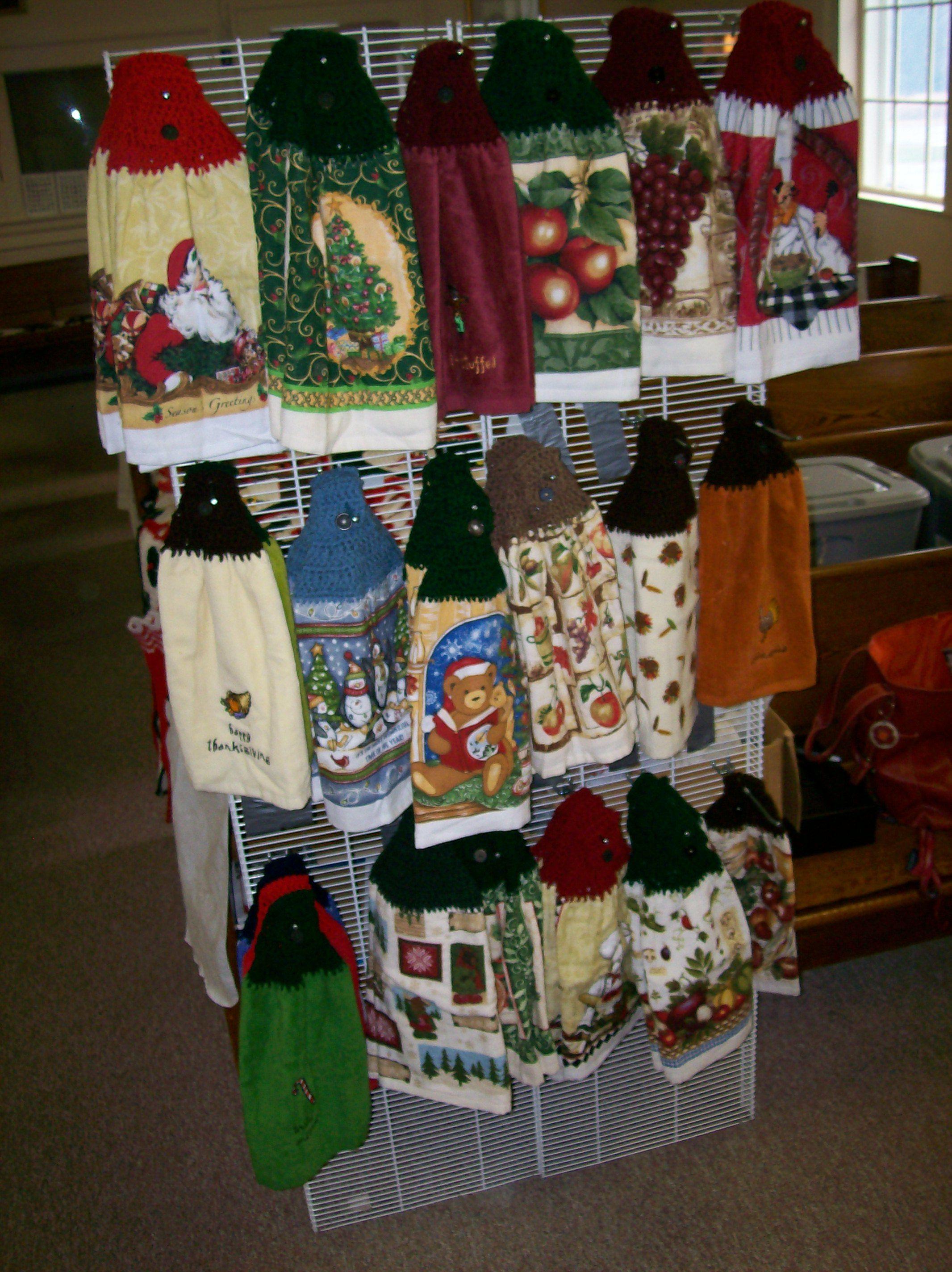 Christmas towela