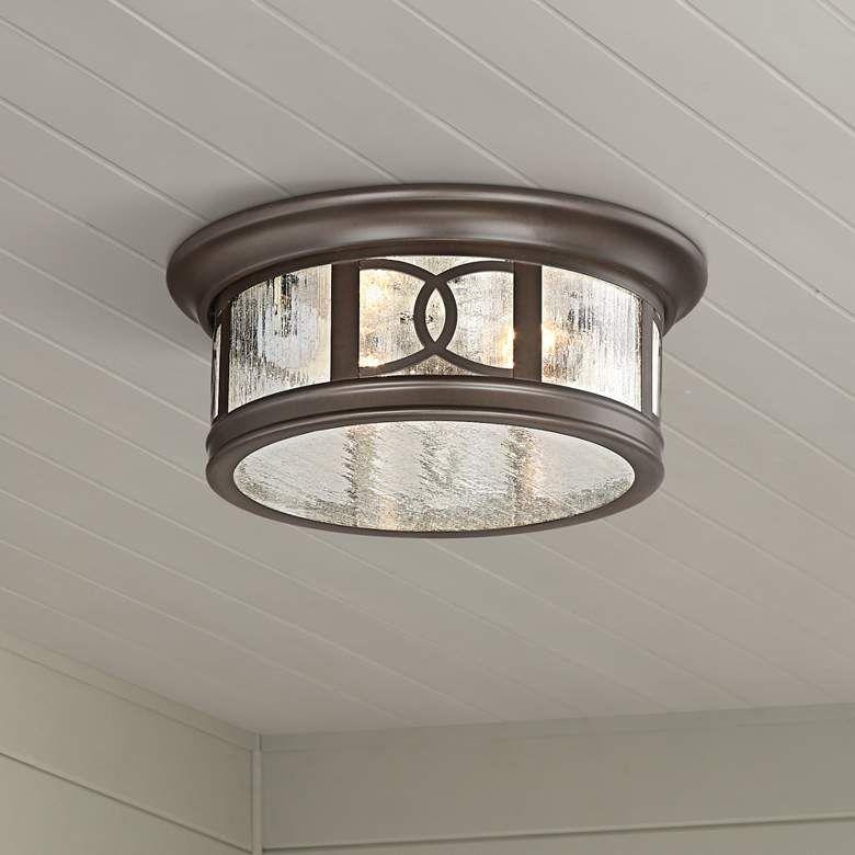 Capistrano 12 Wide Bronze 2 Light Outdoor Ceiling Light 42f34 Lamps Plus Ceiling Lights Outdoor Ceiling Lights Bronze Ceiling Lights
