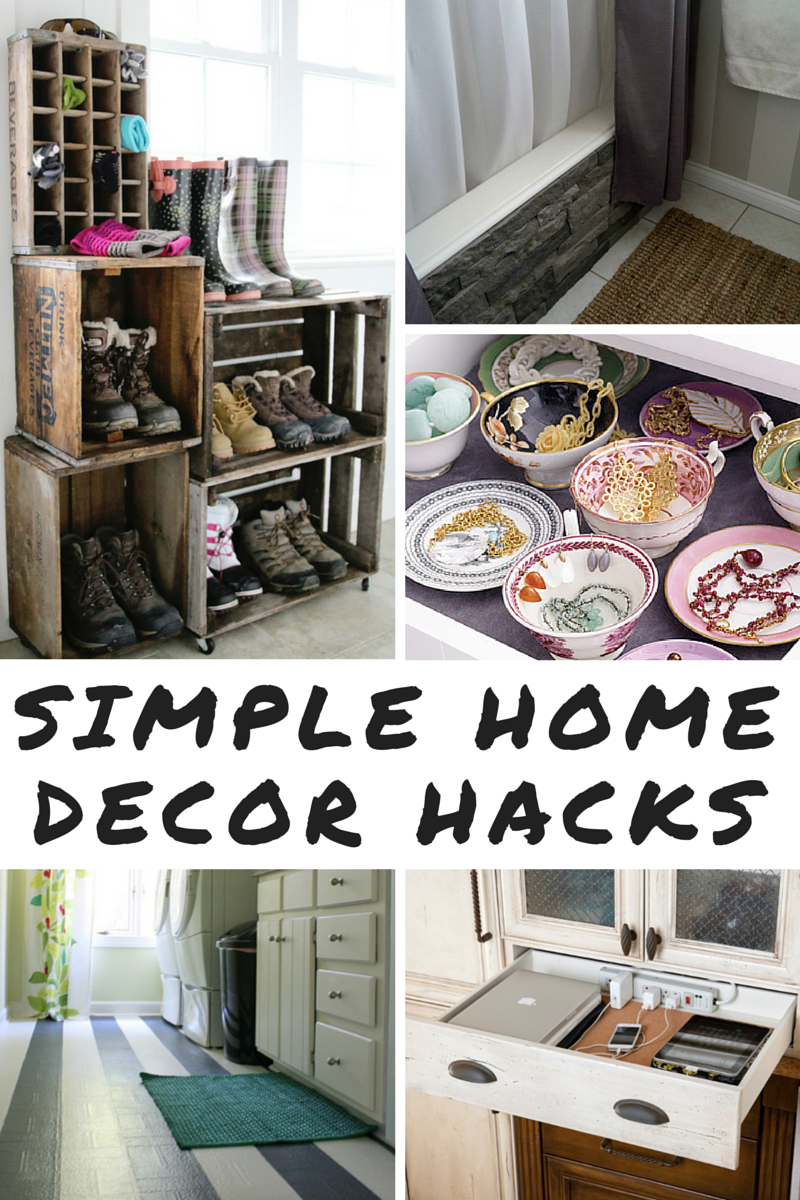 9 Simple Home Decor Hacks Home Decor Hacks Cheap Home Decor