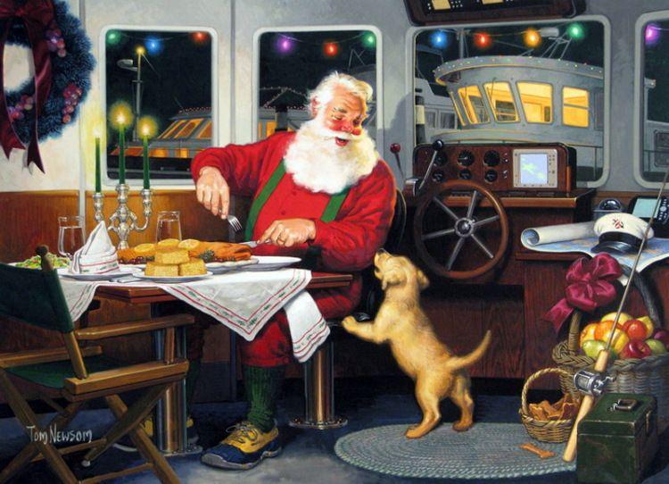 Gallery.ru / Фото #4 - Tom Newsom Santas - MontanaBY