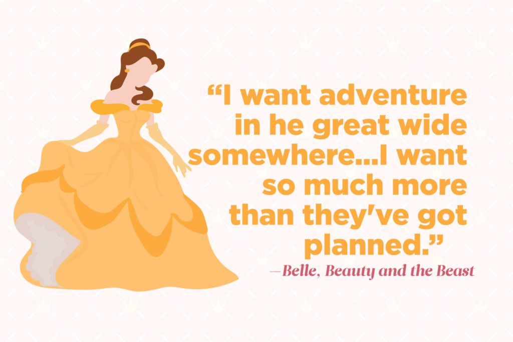 magically inspiring quotes from your favorite disney princesses