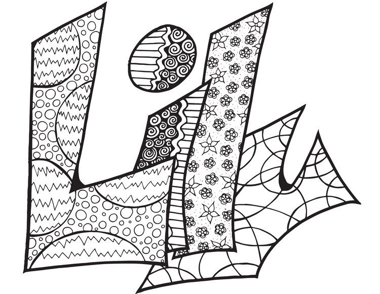 Lily Custom Stevie Doodle Free Printable Coloring Page
