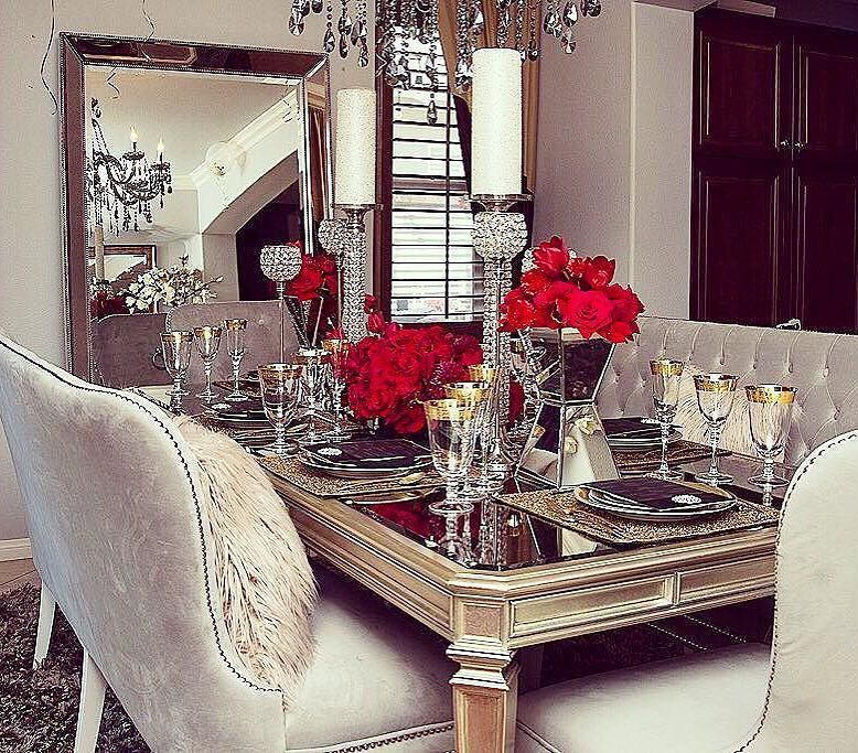 Elegant Tableware For Dining Rooms With Style: We ️Your Style! Classically Beautiful Angles Reign In @rh