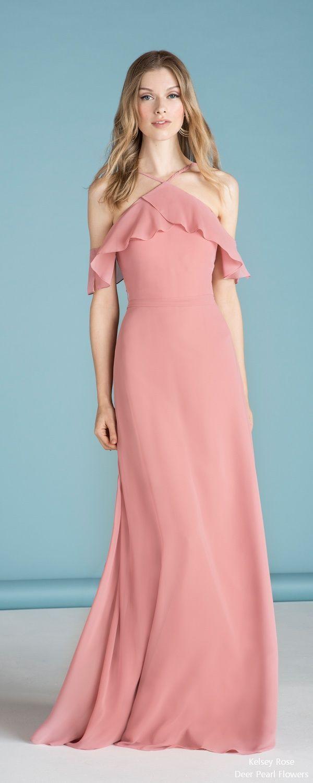 Pink dress design 2018   Bridesmaid Dress Designers We Love for   Rose bridesmaid