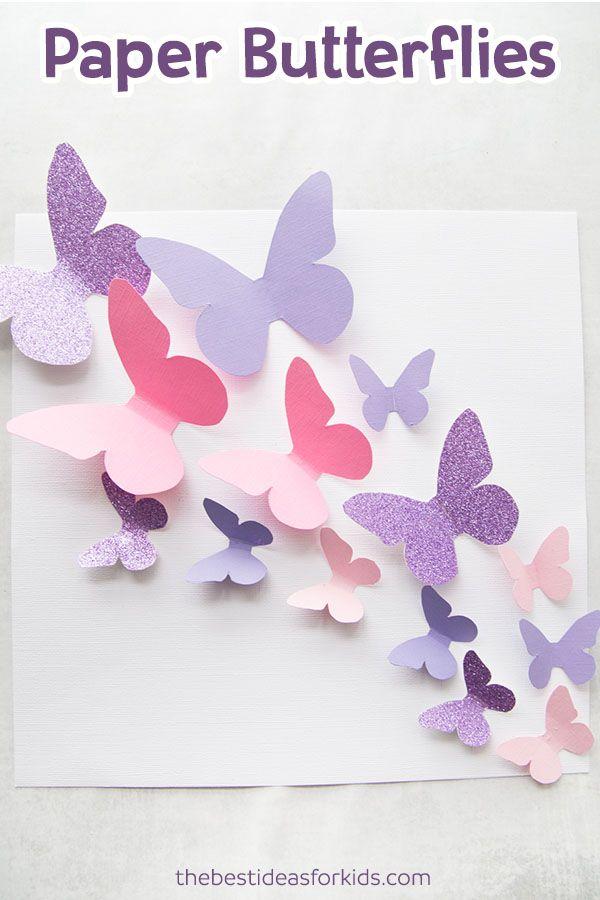 Butterfly Template kolaz Pinterest Butterfly template