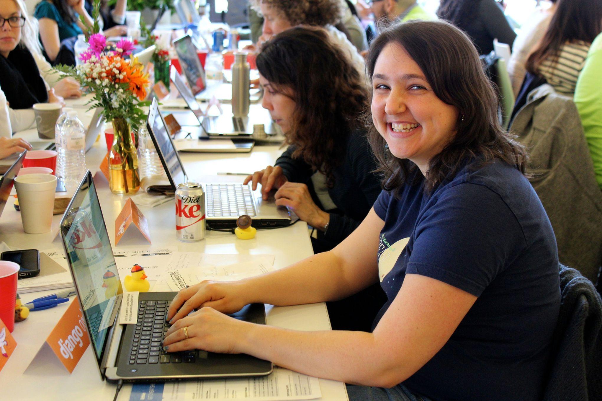 Des clubs de code entre filles, pour vaincre les préjugés dans l'informatique #fle #fslchat #APFrench