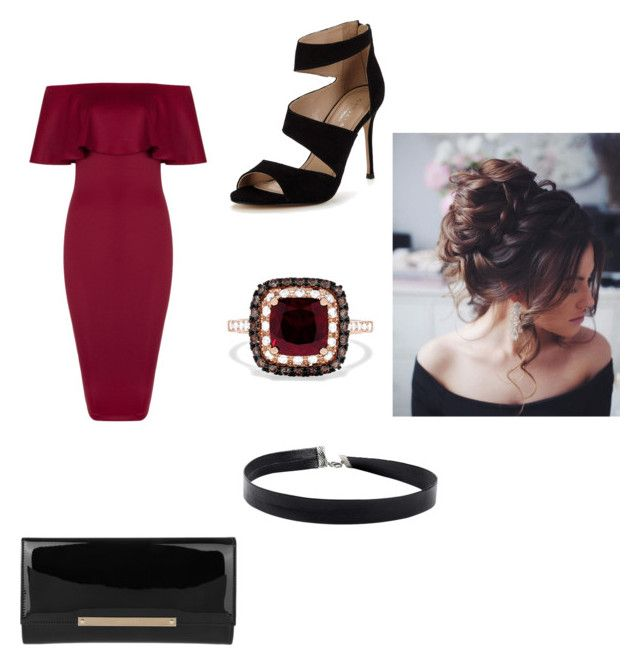"""Untitled #7"" by himani3446 on Polyvore featuring Carvela, Jimmy Choo and Effy Jewelry"