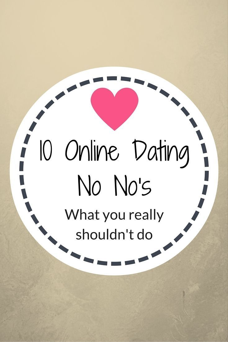online dating no romance