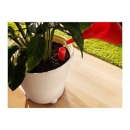 ikea ps fejÖ maceta con autorriego, blanco | ikea ps, plants and
