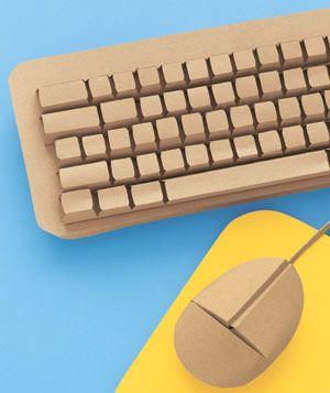 Paper Sculptures Home And Garden Computer Keyboard Diy Paper Sculpture Computer Diy