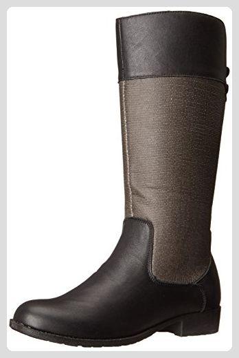 Propet Belmont Damen US 9 Schwarz Mode Mitte Calf Stiefel - Stiefel für frauen (*Partner-Link)