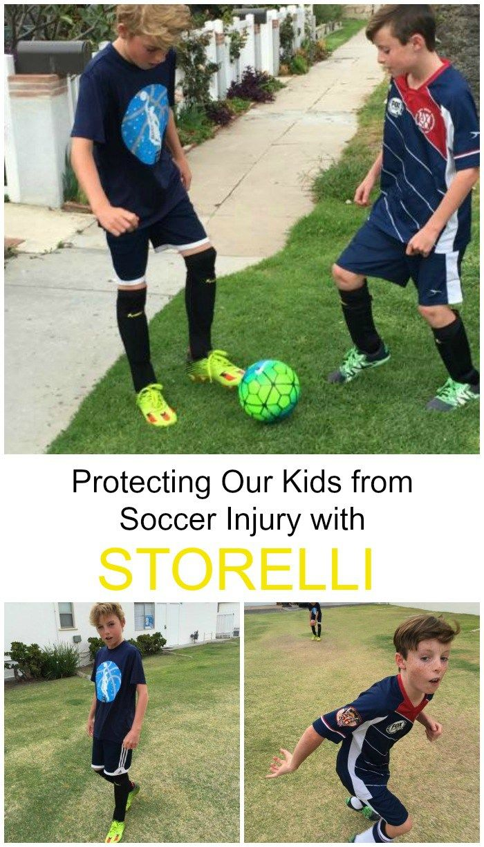 Tips for protecting your kids from the dangers of youth soccer, including safety equipment from Storelli. #ad