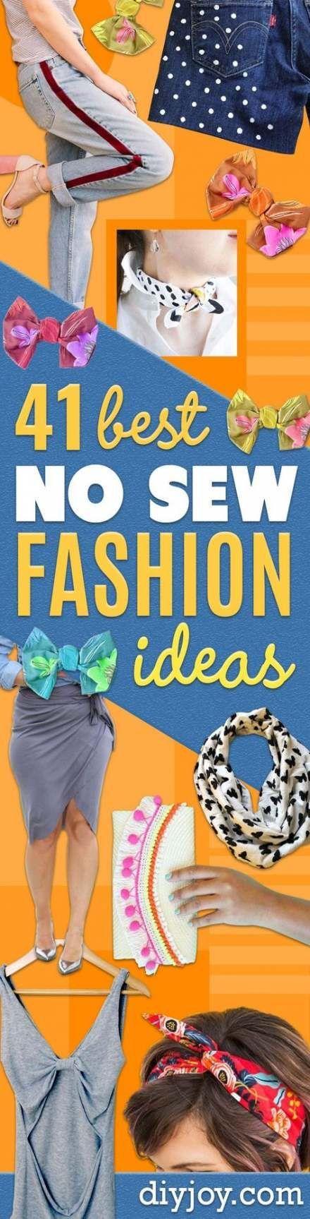60 Ideas Clothes Diy Ideas Shirts No Sew For 2019 #nosewshirts