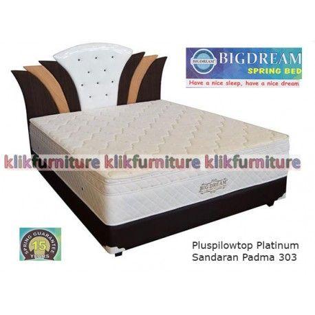 Pluspilowtop Platinum Padma 303 Big Dream Springbed Condition New