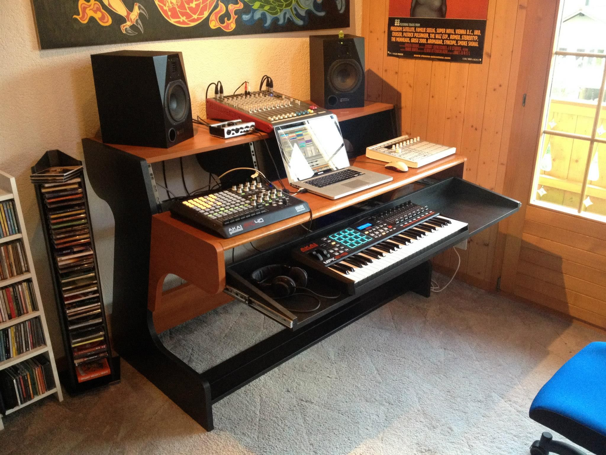 Workspace Of Dj Color C2 From Switzerland