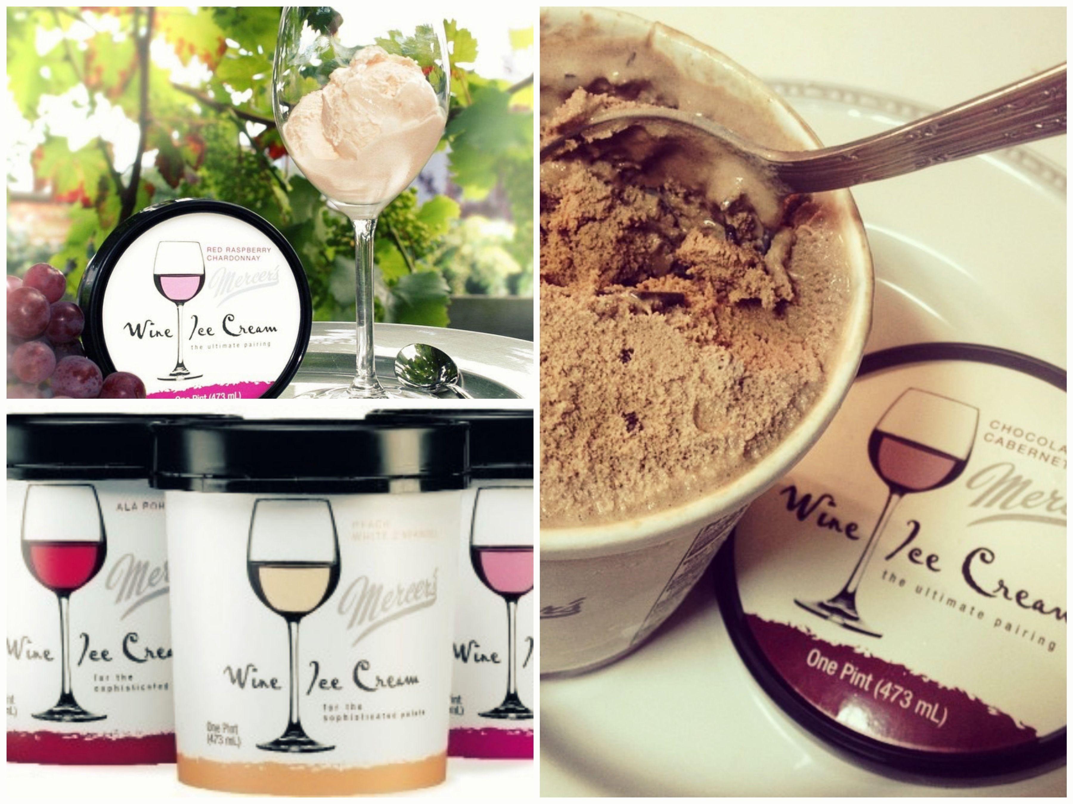Miam une glace au vin !! #yummy #vin #glace #summer #été