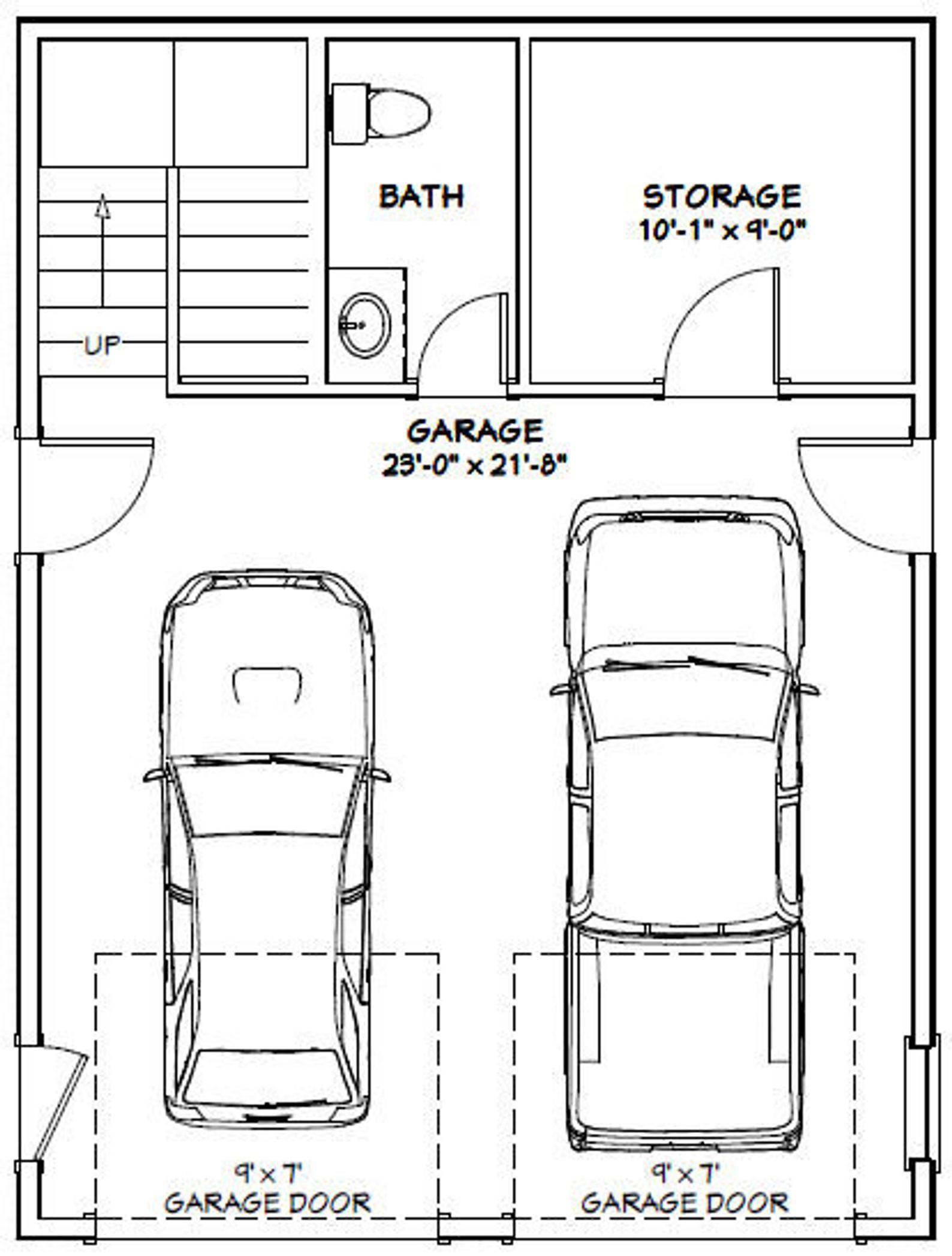 24x32 house 1 bedroom 15 bath 830 sq ft pdf floor  etsy