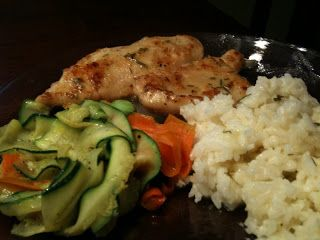 Food Boutique: Fizzy Chicken and Rice with Lemon Vinegarette