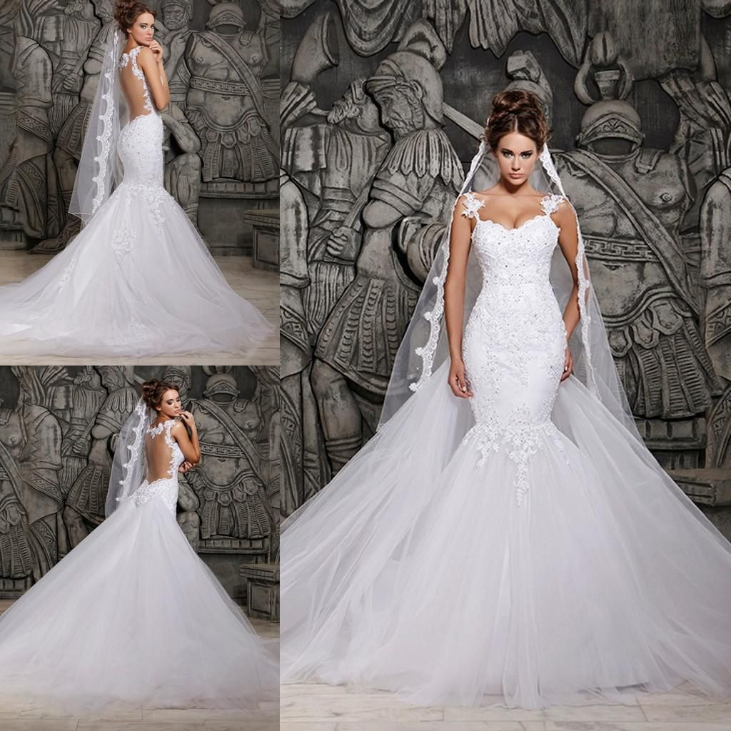 Wholesale Mermaid Wedding Dresses Buy 2014 New Design