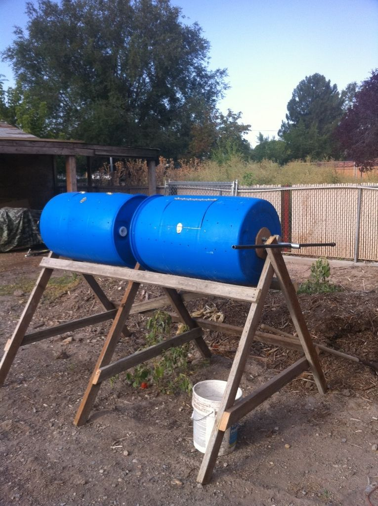 Barrel Composter From 55 Gal Drum