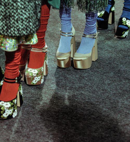 mazzystardust Rochas FW16 Fashion pics