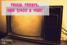 Frugal Fridays: Save Money by Cutting Cable