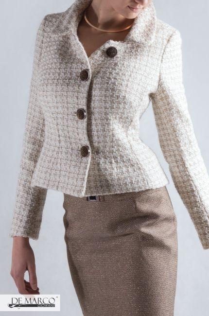 1c787045bd Szycie na miarę eleganckiej odzieży. Garsonki garnitury damskie ...