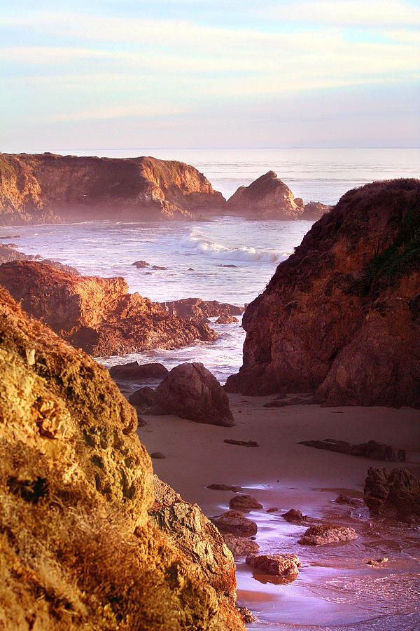 San Simeon Coastal View - California