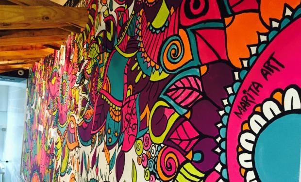 Murales De Mandalas Buscar Con Google Murales Pinterest