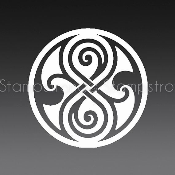 35 In Seal Of Rassilon Gallifrey Doctor Who Decal Sticker Prydonian