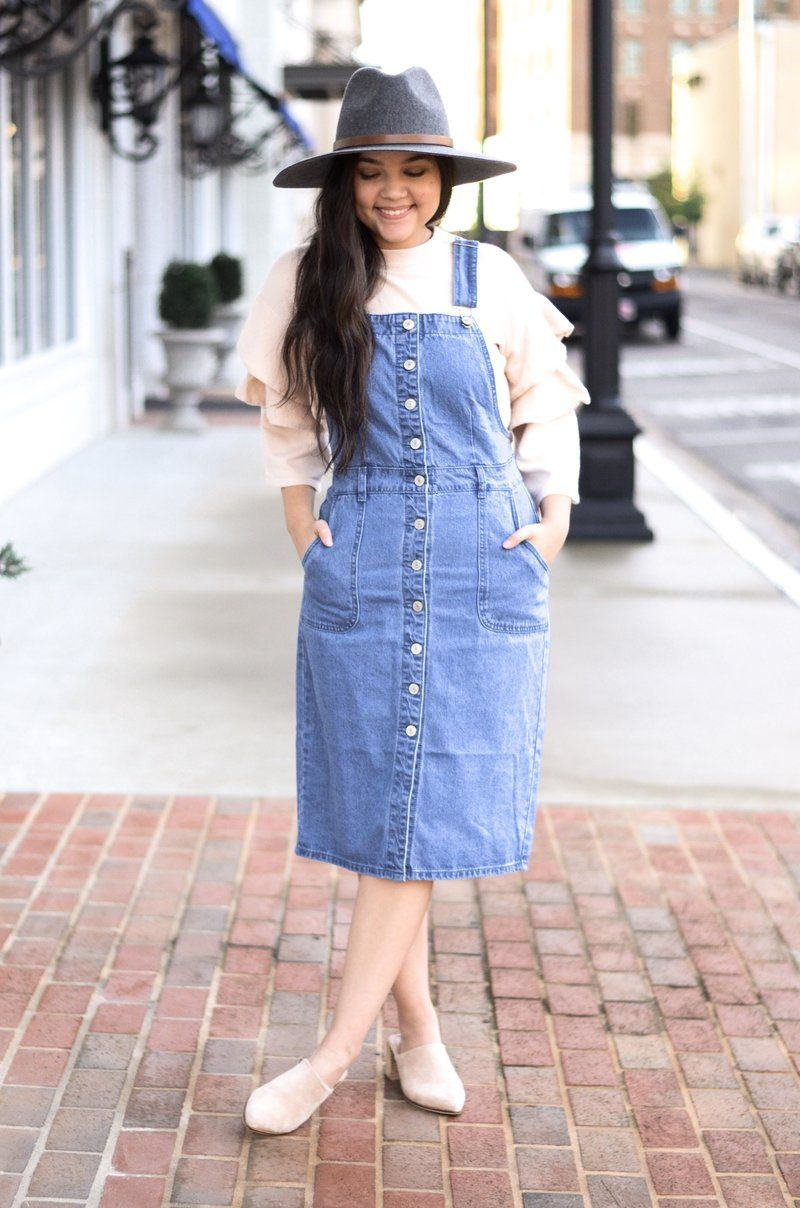 5aad595af6 The Avenue Denim Overalls in 2019 | Items to buy | Denim overalls ...