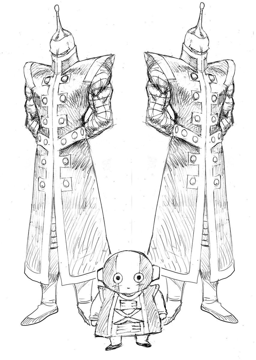 Zeno par Yusuke Murata (One Punch Man) | Anime Art | Pinterest ...