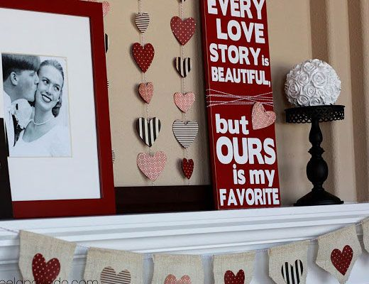 decorating for valentines day 40 ideas for your home - Homemade Valentine Gifts For Husband