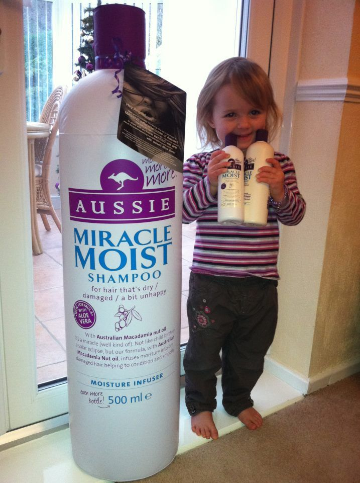 Biggest Bottle of Shampoo & the Youngest Aussie Angel