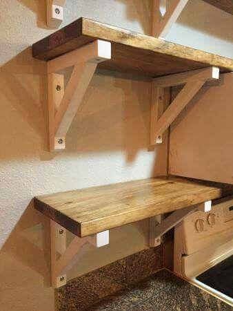 Pin By Michelle Meidinger On Diy Ideas Diy Wood Shelves Diy