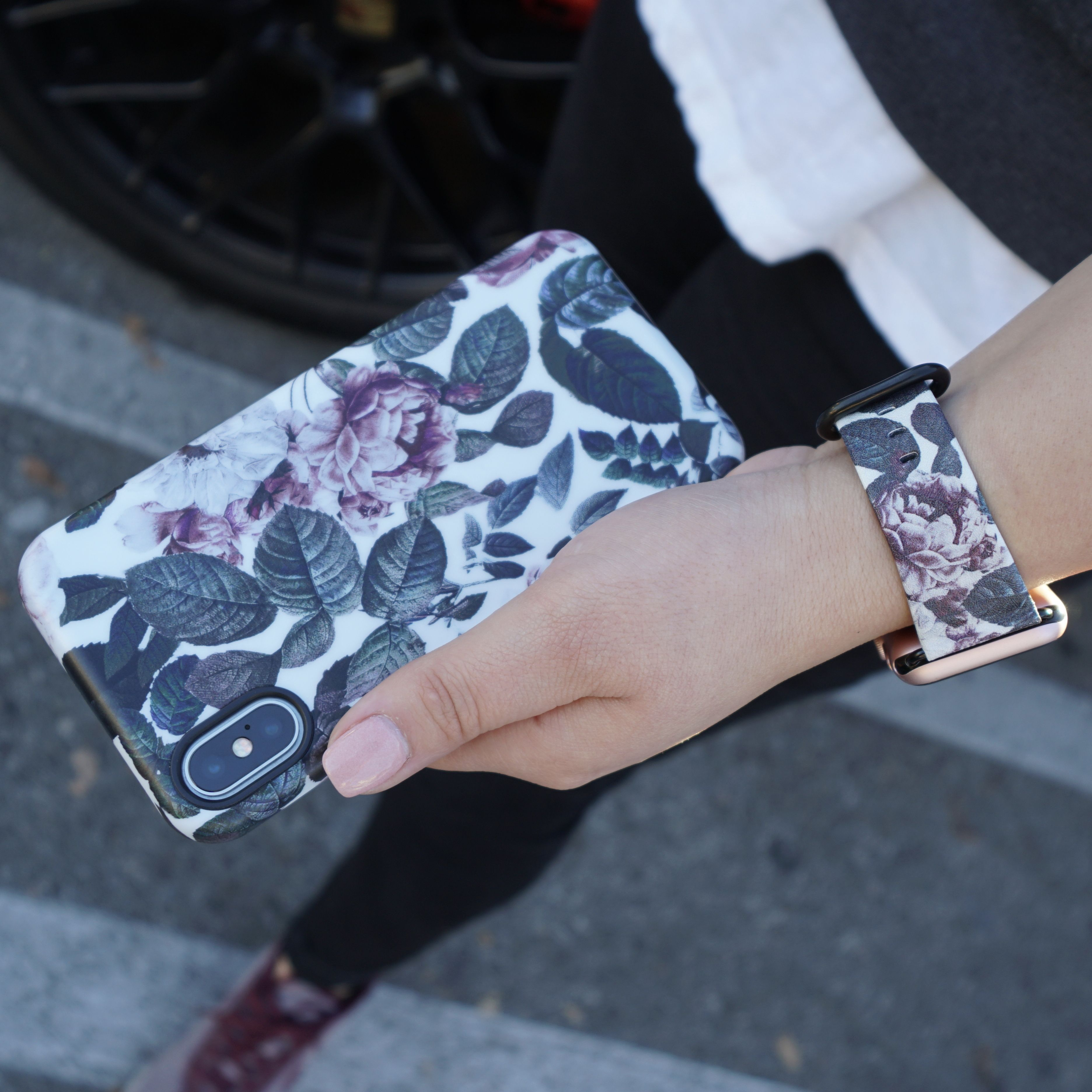sale retailer b611c c84c5 Is that a matching watch band? Shadow Blossom Apple Watch Band for ...