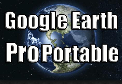 google earth pro portable