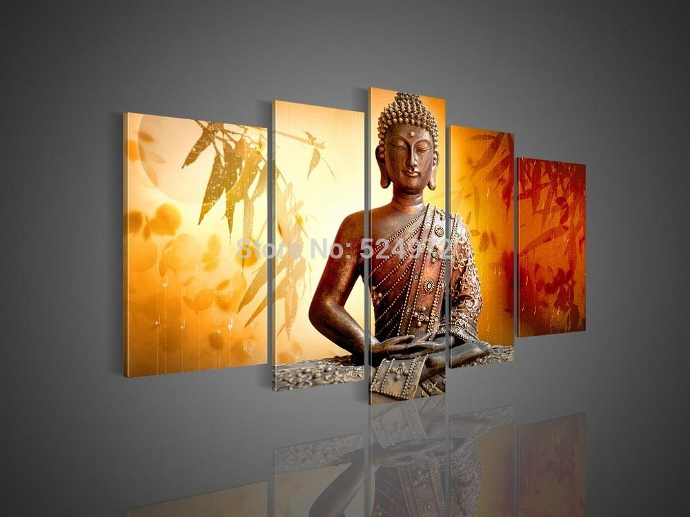 Free shipping Handpainted modern home decor abstract wall art ...