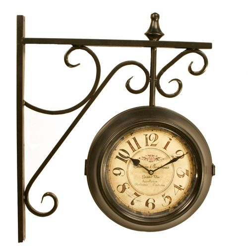 rodworks double sided hanging clock rodworks just bought one similar to this at hobby