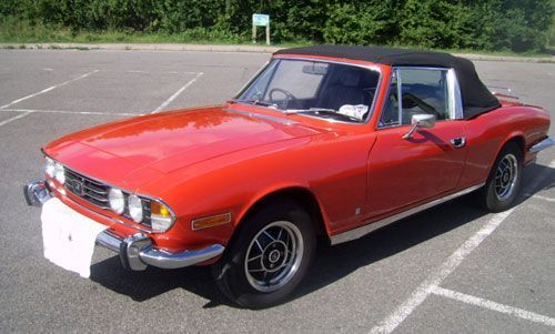 1970s Triumph Stag convertible sports