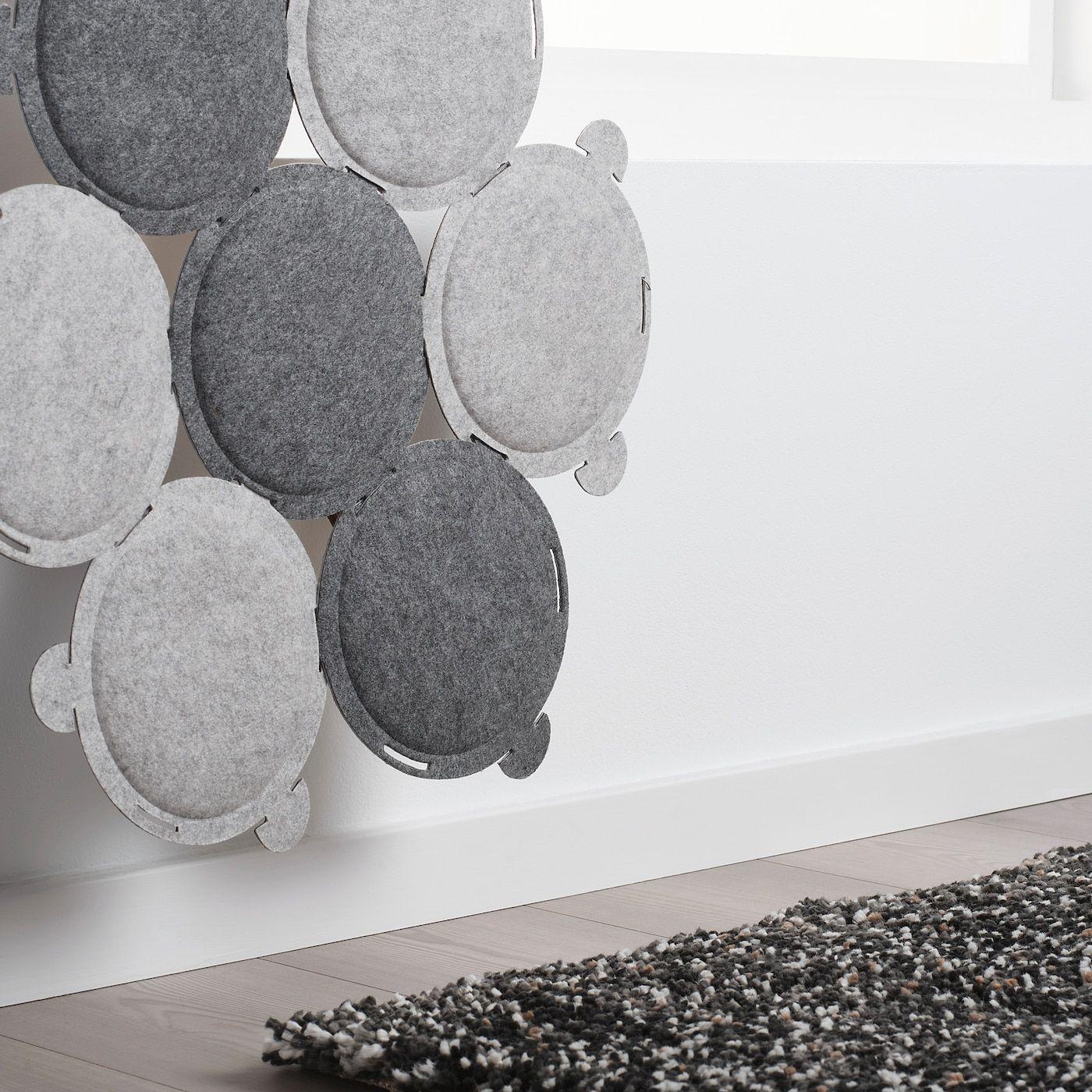 Wonderlijk ODDLAUG Sound absorbing panel - gray | Sound absorbing, Sound SY-11