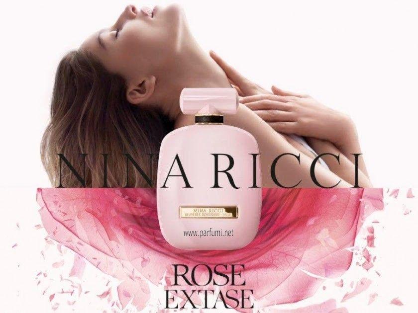 Nina Ricci Rose Extase е изискан дамски парфюм, издаден през 2017 година.  Ароматът е нов вариант на вече станалия култов L'Exta…   Perfume lover,  Beauty ad, Perfume