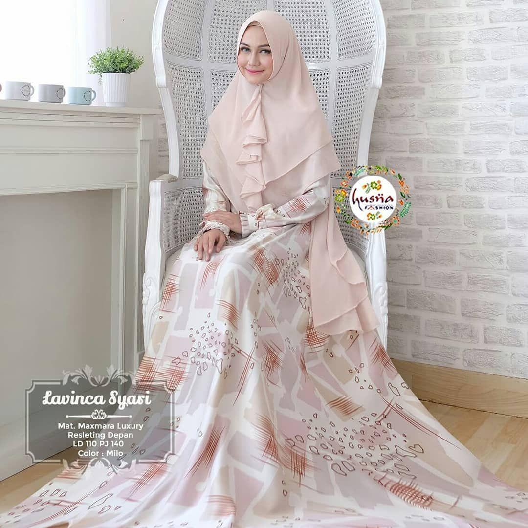 Model Baju Muslim Orang Gemuk Biar Kelihatan Langsing in 9