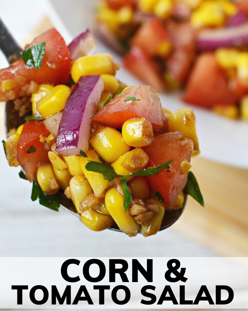 Photo of CORN AND TOMATO SALAD RECIPE